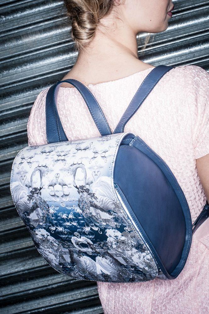 MIDNIGHT SWIM www.lisaryderdesigns.ie luxury leather handmade handbags