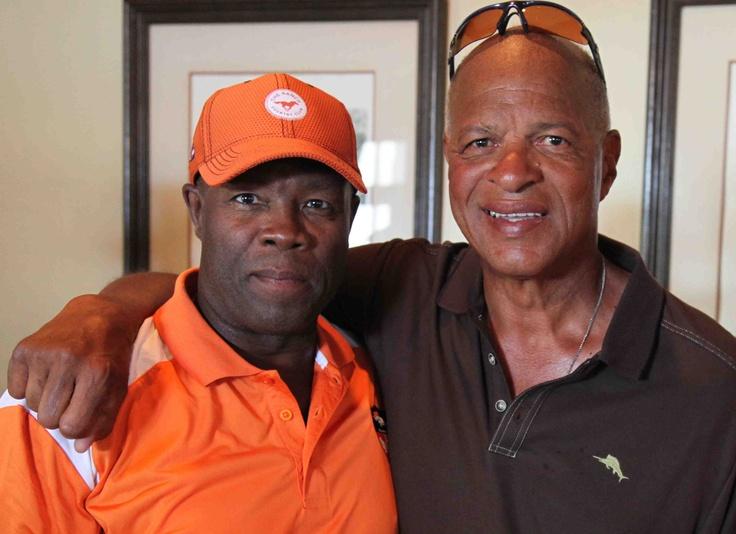 Rick Upchurch and Haven Moses Denver Broncos Alumni