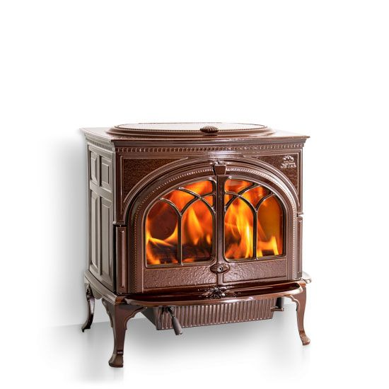 With all of the technological features of its smaller cousins, the Jøtul F 600 is indeed a classic wood stove. Description from jotul.com. I searched for this on bing.com/images