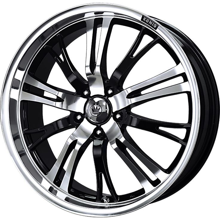 Black and Chrome Rims Cheap Find the Classic Rims of Your Dreams - www.allcarwheels.com