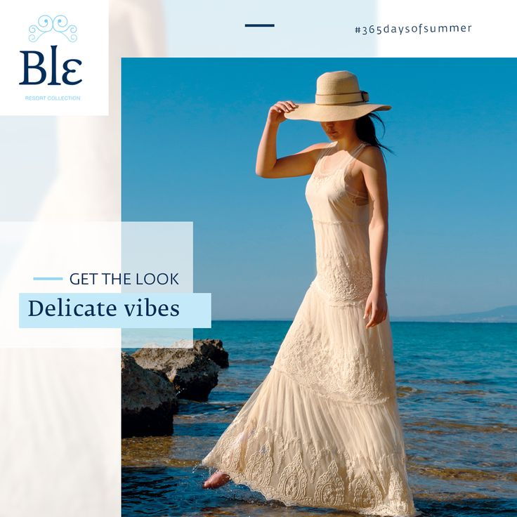 There are some dresses that last through time. The new Ble collection summer 2017 of long and short dresses is dedicated to elegance, created with lace, shaping a delicate look you love to own season after season. Discover the collection here www.ble-shop.com