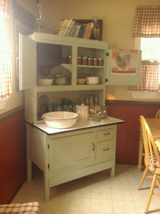"""Hoosier Cabinet. One of my """"REDOS""""... what WILL be next?"""