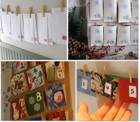 Homemade Advent Calendars