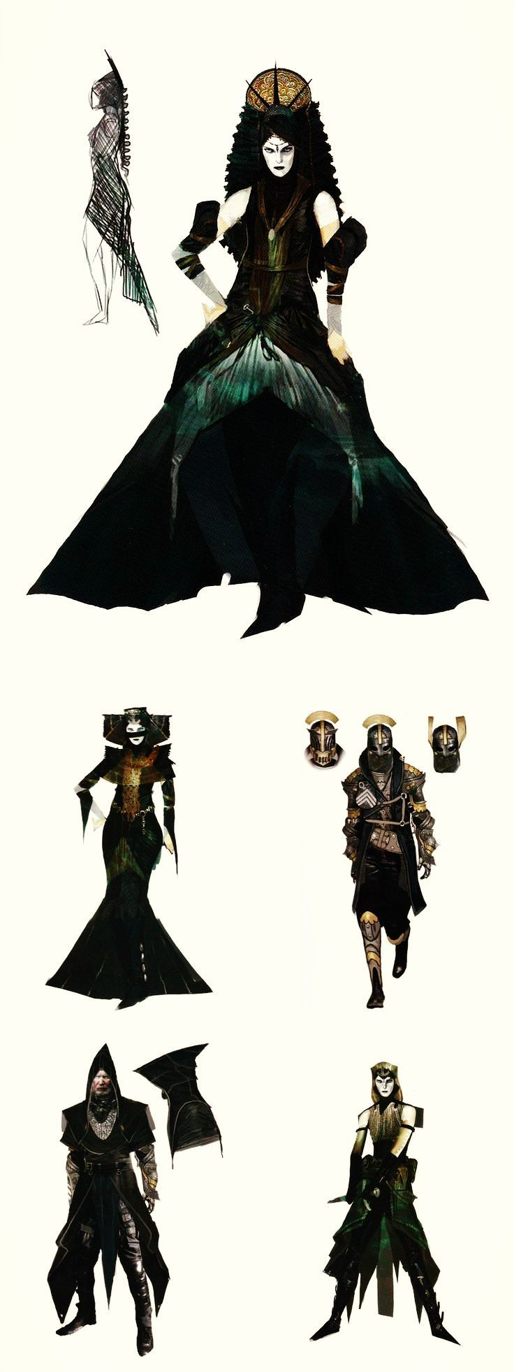 Dragon Age Inquisition Character Design Ideas : Tevinter fashion in the art of dragon age inquisition i