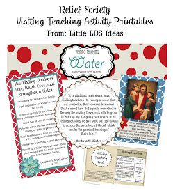 Little LDS Ideas: Visiting Teaching Brunch: Come Grow With Us!
