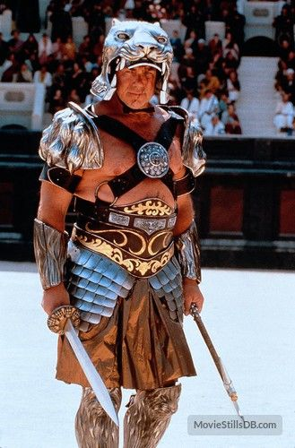 This is Tigris (Sven-Ole Thorsen) in Gladiator.