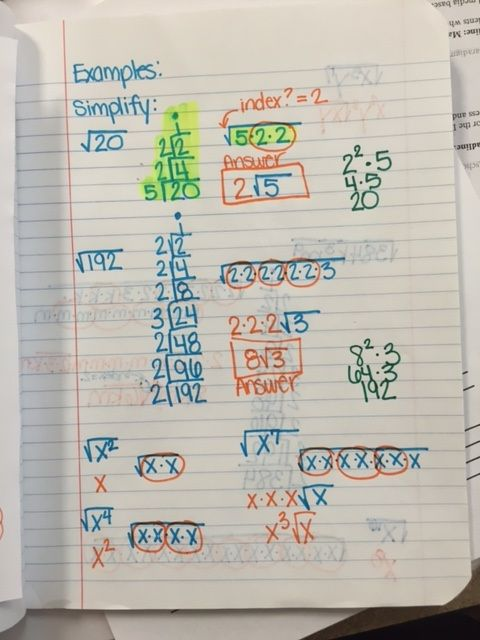 8 best Algebra 1 - Radicals images on Pinterest | Algebra ...