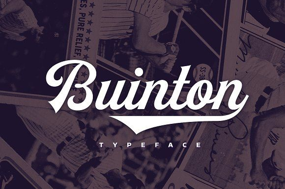 Buinton by Mika Melvas on @creativemarket