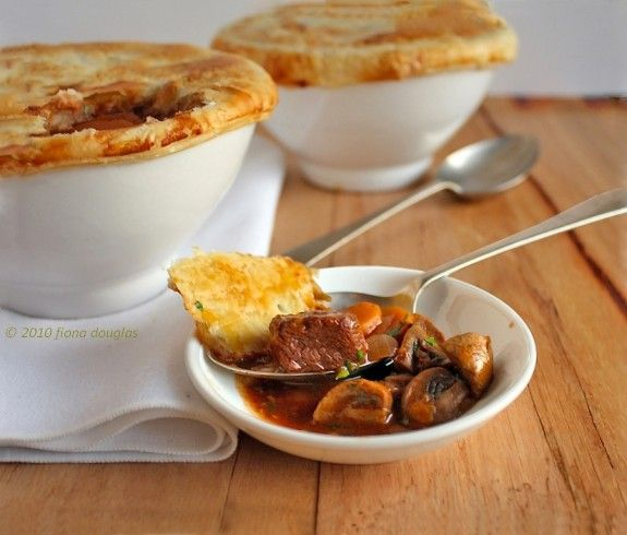 individual beef and red wine pies individual beef and red wine pies a ...