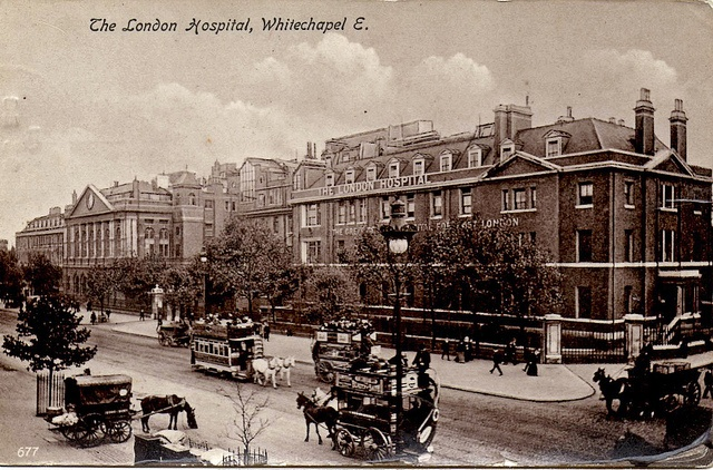 The London Hospital by robmcrorie, via Flickr