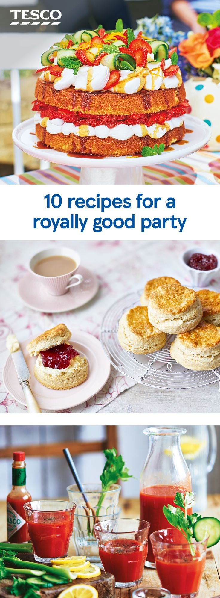 The 106 best Party Time | Tesco images on Pinterest | Canapes ...