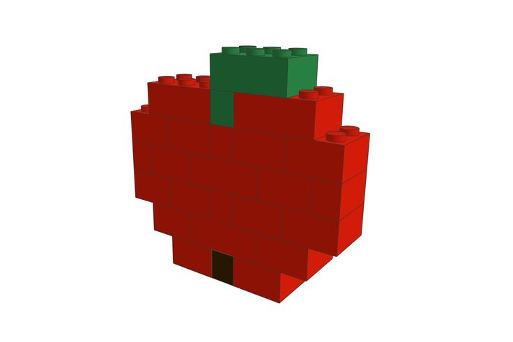 LEGO Apple MOC! More info on our website!
