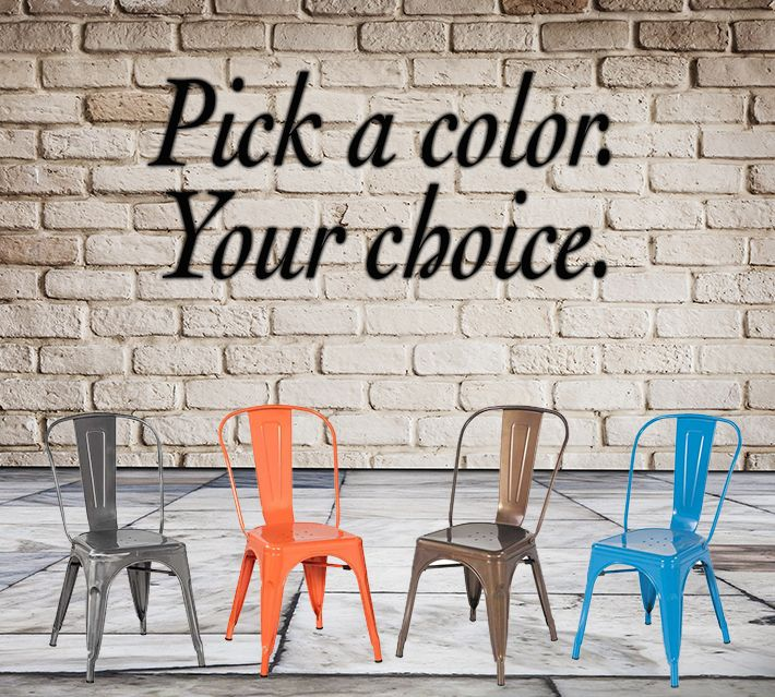 These Retro Style Chairs Come In A Variety Of Colors. Which One Is Your