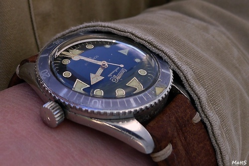 Vintage Eberhard Scafograf 200 Circa 1961 #Womw #Watches #Eberhard #Diver - omegaforums.net
