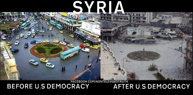 Syria | Before and After