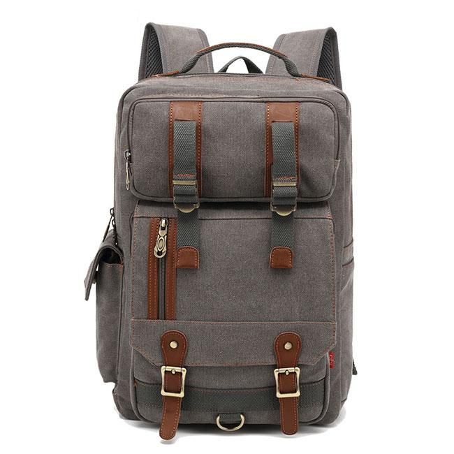 New Men/'s Women/'s Canvas Backpack Rucksack School Travel Laptop College Bag Bags