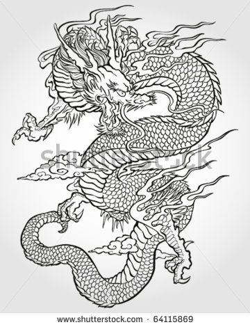 25 Best Ideas About Asian Dragon Tattoo On Pinterest