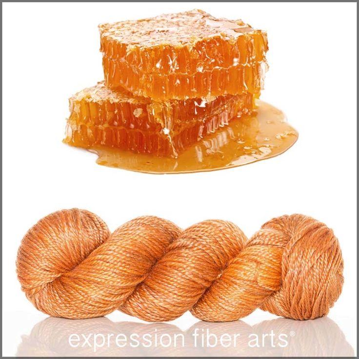 Honeycomb expression fiber arts yarn - delish!!