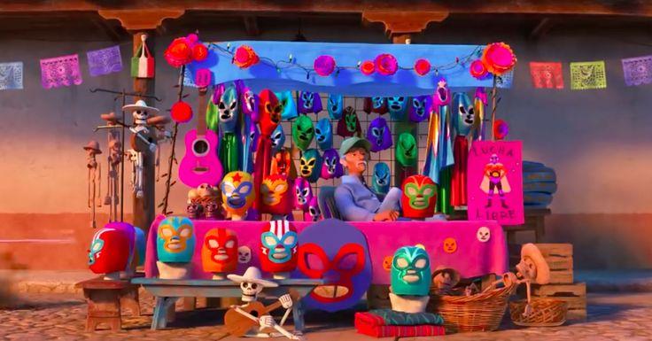 coco pixar   Los EASTER EGGS de Pixar en la película COCO
