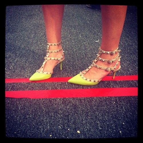 Valentino Rockstud: Rockstud Sxsw, Valentino Rockstud, Wedding Shoes, Color, Style Crushes, Studs Heels, Neon Rockstud, Valentine Studs, Southwest Style