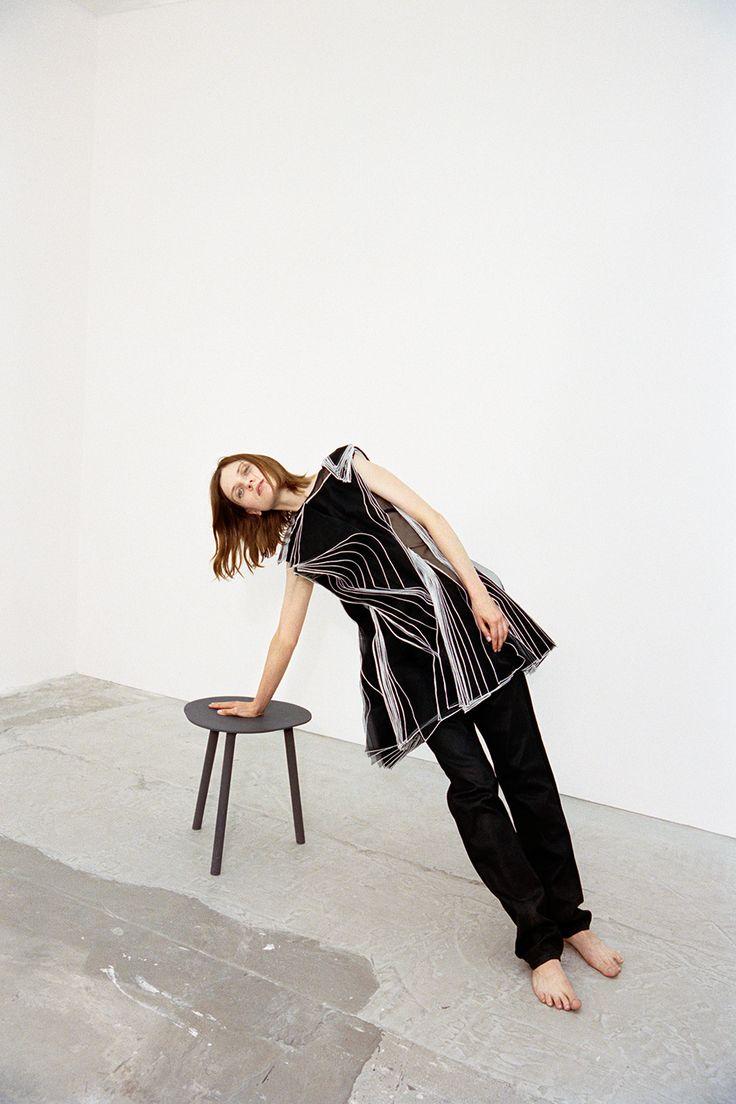 Maria Loks photographed by HART+LËSHKINA for Wallpaper Magazine October 2014