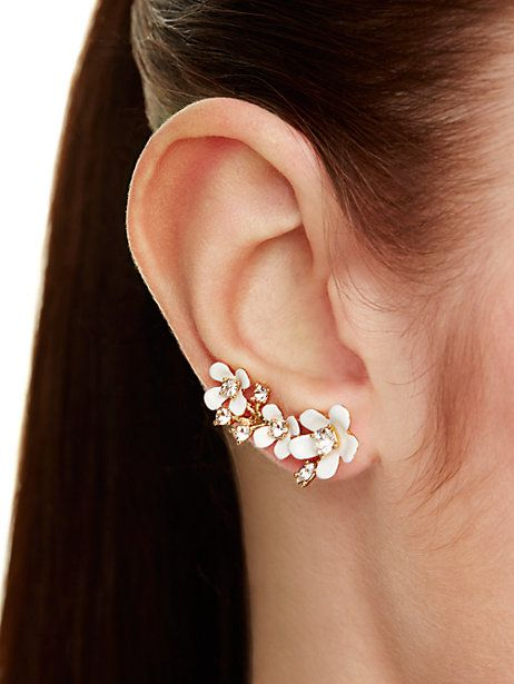 pretty petals ear pin - kate spade new york
