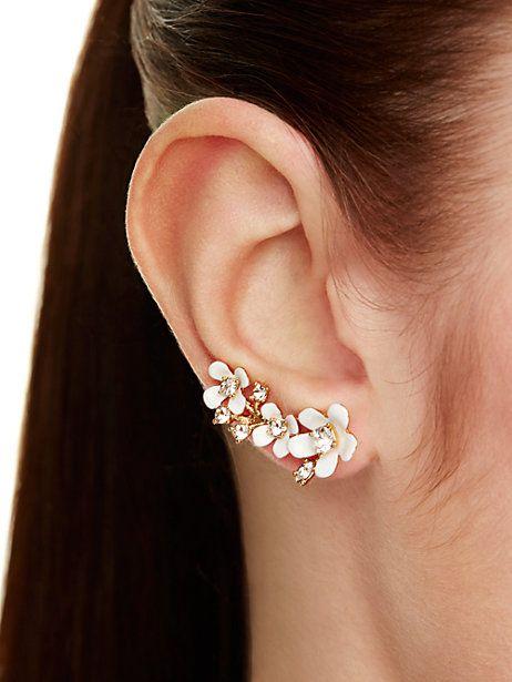 pretty petals ear pin - kate spade new york