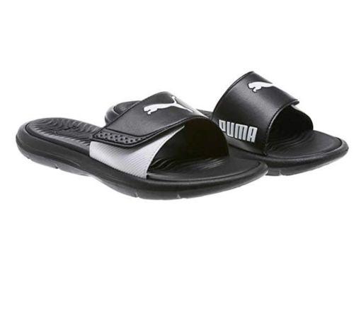 0e0d5b2d81 Brand New Puma Women's Surfcat Slide Slip On Sandals Black & White ...