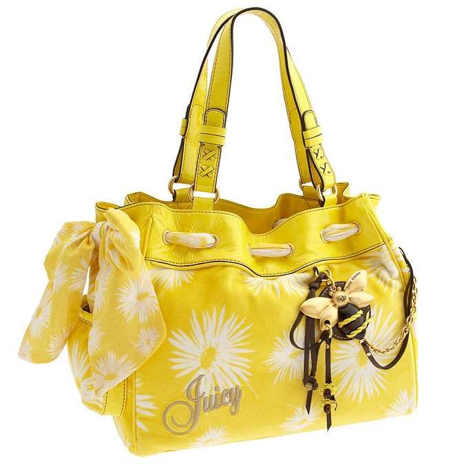 Juicy Couture~  I LOVE this bag! Way cute for summer with some cute boots and sundress :)