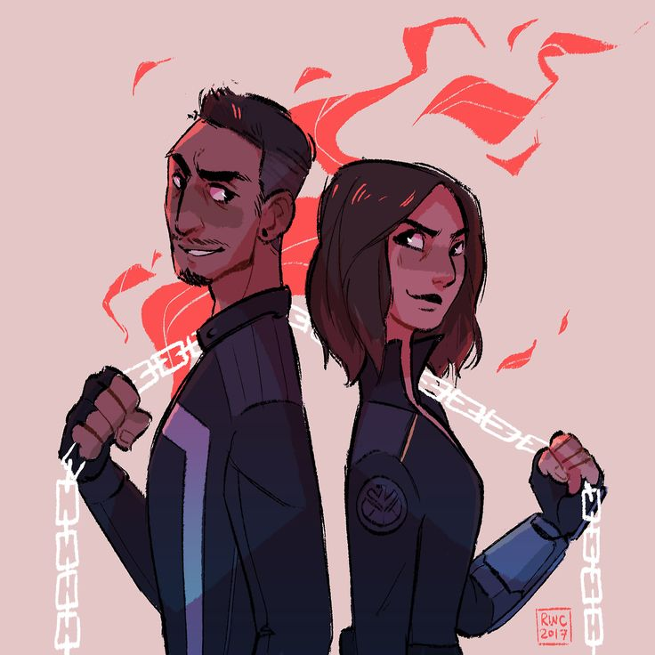 I have so much stuff to do for finals but I absolutely loved my faves teaming up in the AOS finale on Tuesday by reb-chan
