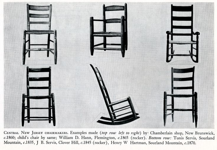 from William MacDonald's Central New Jersey Chairmaking