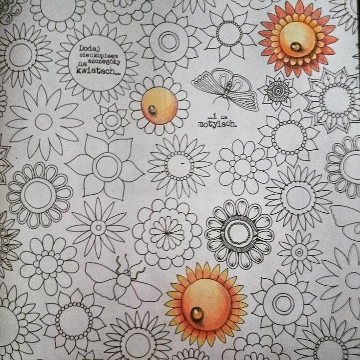 """""""Dziękujemy @zyjkolorowo za pokazanie jak robić takie krople! :) Zajrzyjcie jutro na nasz FB - zobaczycie, jak powstał jeden z tych kwiatów ;)…"""""""