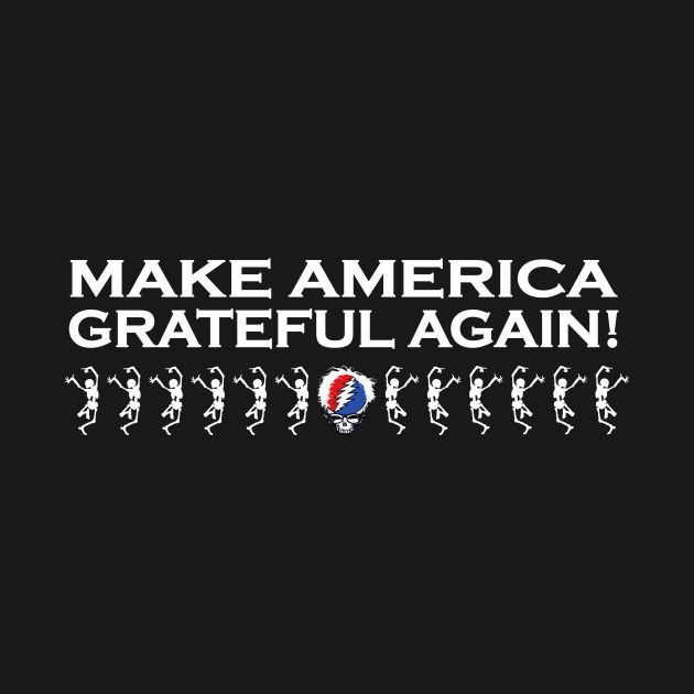 Awesome 'Make+America+Grateful+Again+1' design on TeePublic!