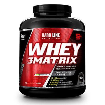 Hardline Whey 3 Matrix 2300 gr Protein Tozu