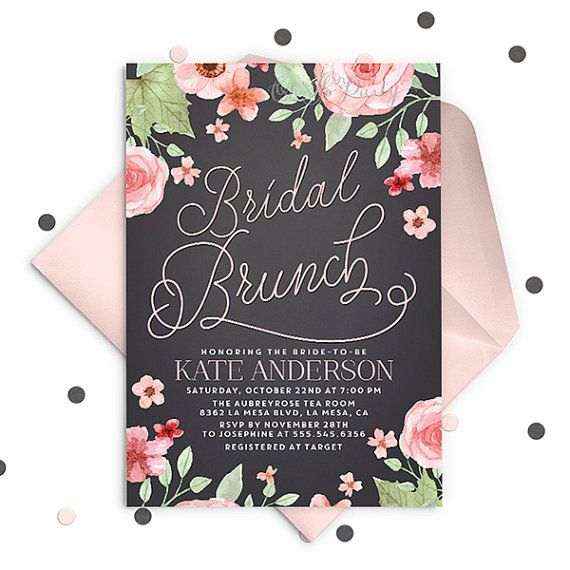 Custom Bridal Shower Invitations as nice invitation sample