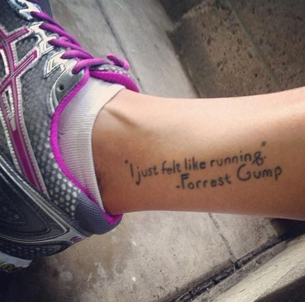 31 Best Running Tattoos Images On Pinterest