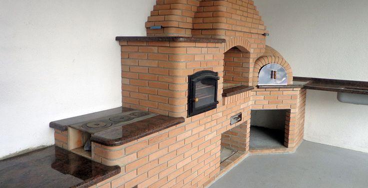 4Módulos Conjugados: - Churrasqueira - Fogão a Lenha - Forno de Ferro Fundido - Forno de Pizza  - CONSULTE OPÇÕES COM OU SEM CHURRASQUEIRA -OS MÓDULOS PODEM SER VENDIDOS SEPARADAMENTE - INSTALAÇÃO COM PROFISSIONAIS ALTAMENTE CAPACITADOS  -Material Incluso: - Areia, Cimento e Cal - Estrutura - Impermeabilizante - [...]