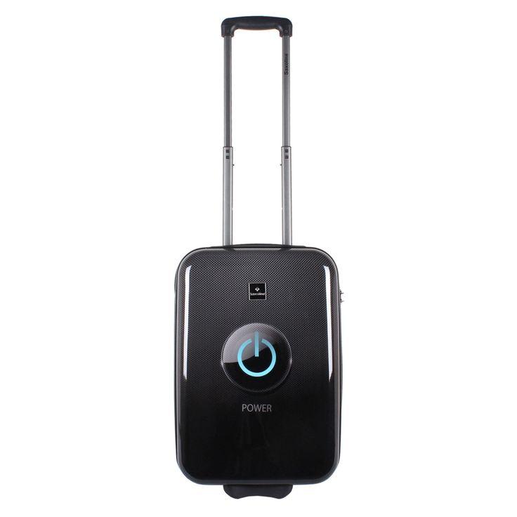 Bordtrolley Saxoline Power #Button bei Koffermarkt: ✓Print-Motiv für #Geeks & #Nerds ✓2 Rollen ✓ABS-Polycarbonat-Hartschale ✓ #IATA-konform ⇒Jetzt kaufen