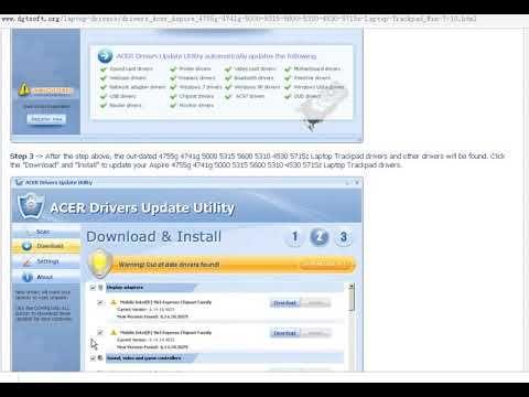 Acer ferrari 5000 driver download   acer driver support.