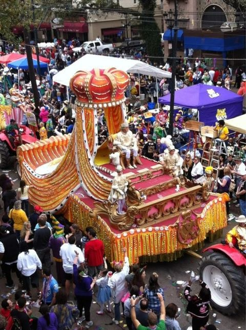 Rex parade, Mardi Gras in New Orleans