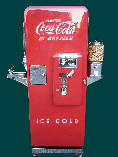 coke machine cost