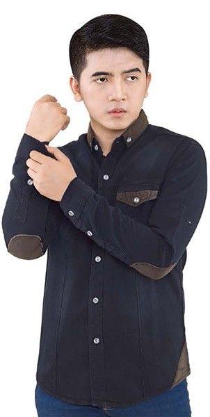 Inficlo Denim Shirt Black