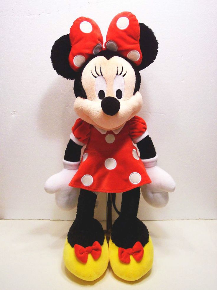 Minnie Mouse Toys : Toy plush minnie mouse stuffed animal quot large walt