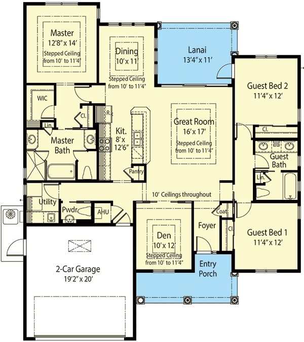Plan 33007zr 3 bed super energy efficient house plan for Energy saving house plans