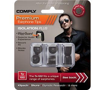 Comply Wax-Guard Earphone Tips TX 100