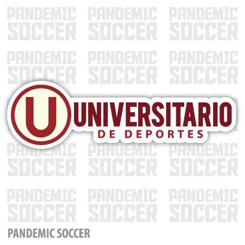 Universitario de Deportes Peru Vinyl Sticker Decal Calcomania