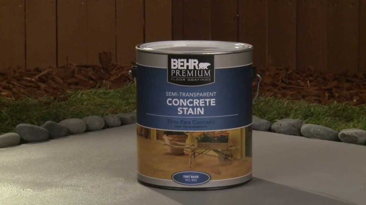 Likely... Behr concrete stripper phrase