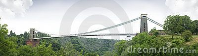 Clifton suspension bridge, built by Isambard Kingdom Brunel in Bristol