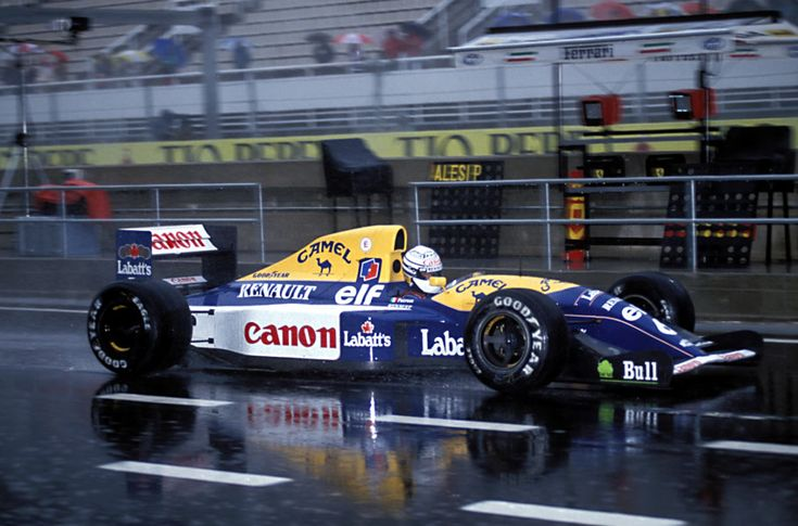 Riccardo Patrese, Williams-Renault FW14B, 1992 Spanish GP, Barcelona