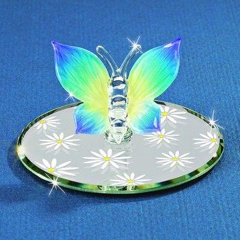 Glass Baron Butterfly Figurine #glassbaron #glass #figurine